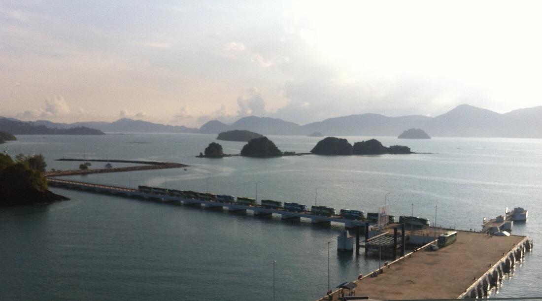 Круизная стоянка на острове Лангкави (Langkawi), Малайзия