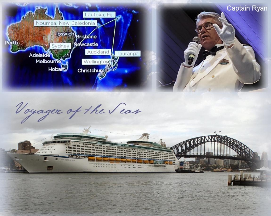 Белое и чёрное: Новая Зеландия и острова Меланезии в круизе Voyager of the Seas из Сиднея