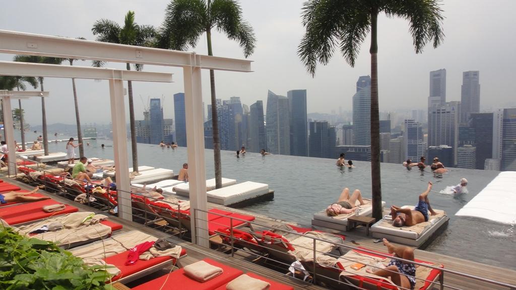 SkyPark Marina Bay Sands Singapore для посетителей