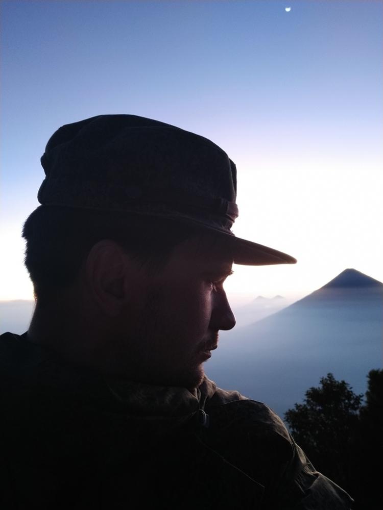 Вулкан Фуэго (ноябрь 2019)