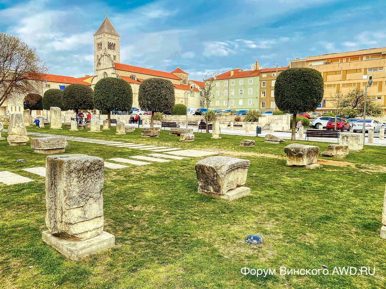 Хорватская Далмация от Макарска до Задар на авто в марте 2021