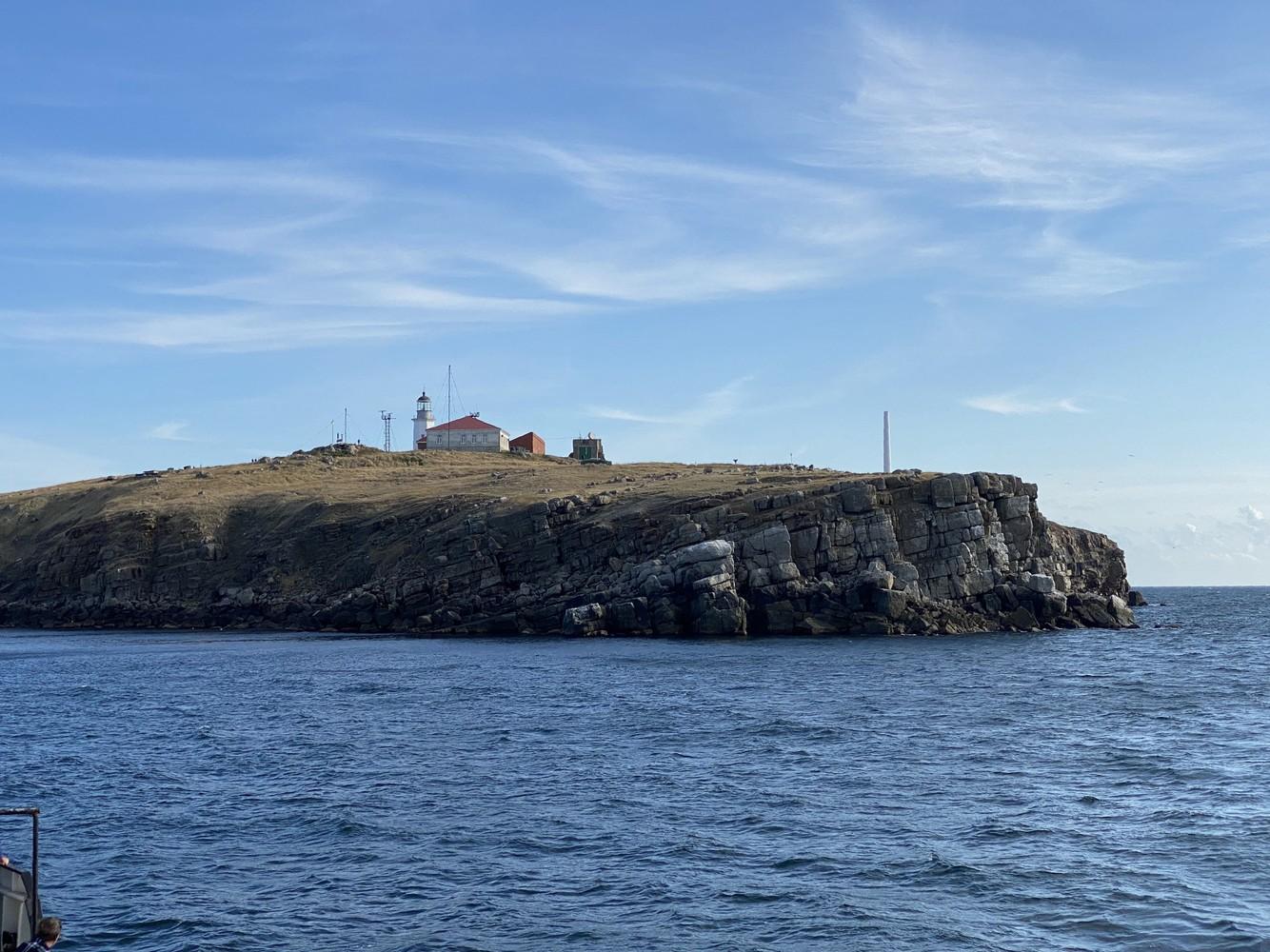 Остров Змеиный в октябре 2020