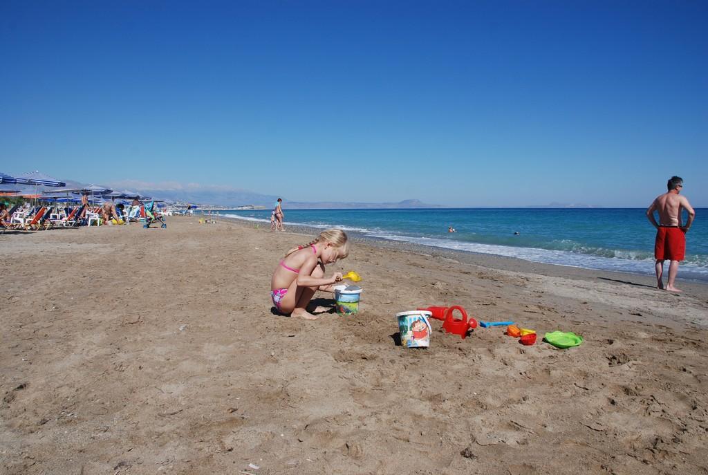 Какое место выбрать на Крите для отдыха с детьми?