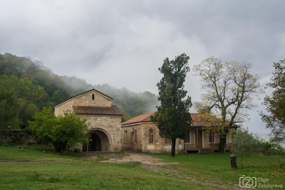 По западной Грузии с рюкзаками, штативом и годовасом