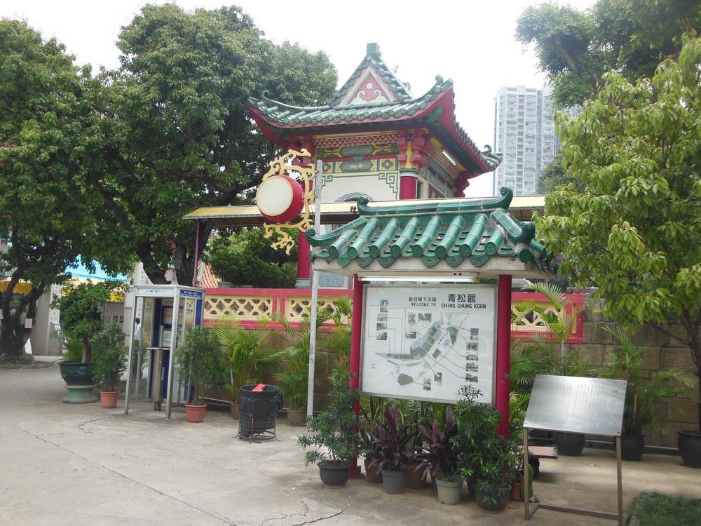 Гонконг на полдня:  Ching Chung Koon & Nan Lian Garden (фототраффик)