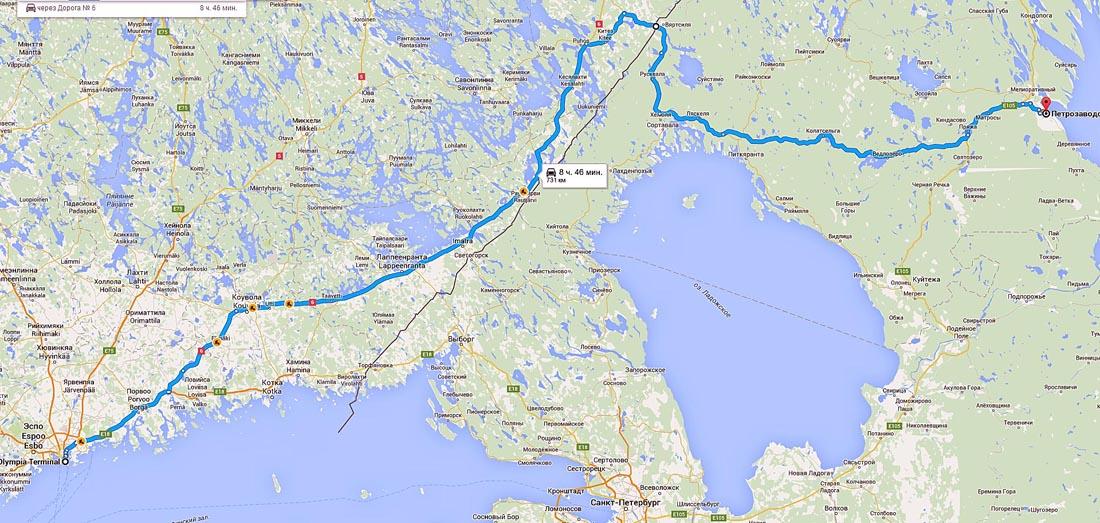 подобрать сколько км от петрозаводска до хельсинки фото где раньше была