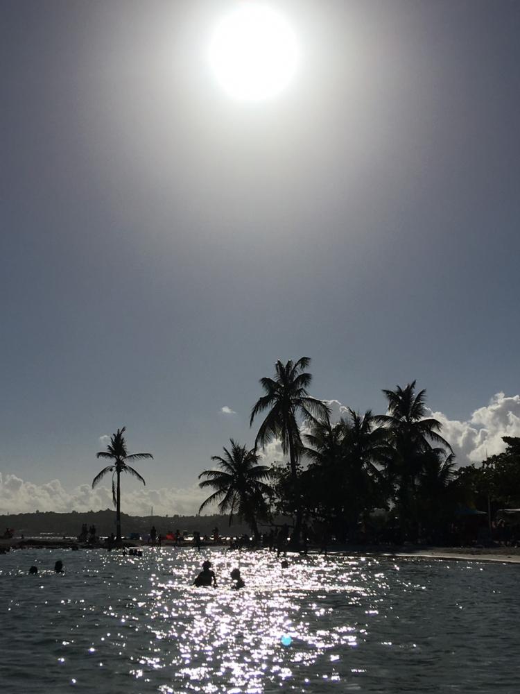 Гваделупа и Доминика в конце авг.-сент. 2018