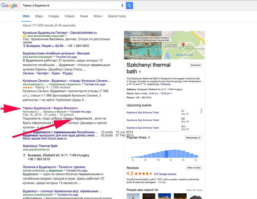 Как сделать так, чтобы ваша тема (например отчет) появилась в выдаче Google