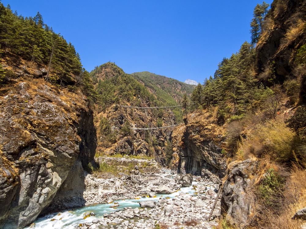 Док и Турик в бэби-треке в нацпарке Сагарматха или Ледниковый период