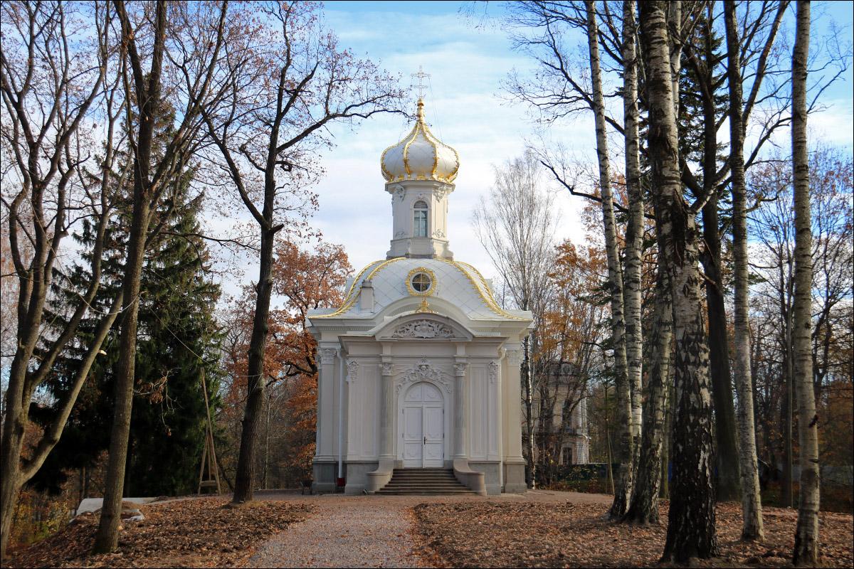 Санкт-Петербург, Петергоф. Усадьба Сергиевка и Собственная дача