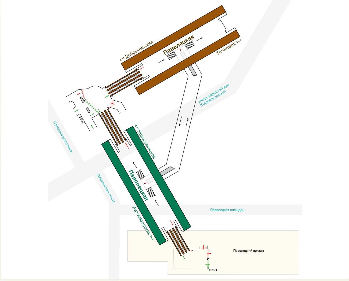 Схема ленинградский вокзал с входом в метро