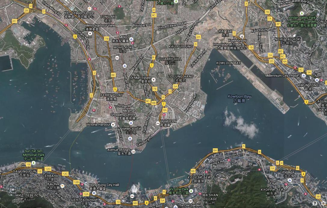 Круизный порт Гонконг, Китай