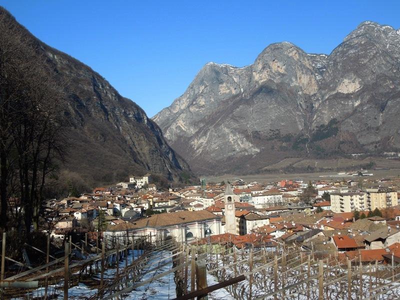2013, фев. Трентино-Альто-Адидже без лыж. Культпоходы по долинам и по взгорьям. Без а/м.