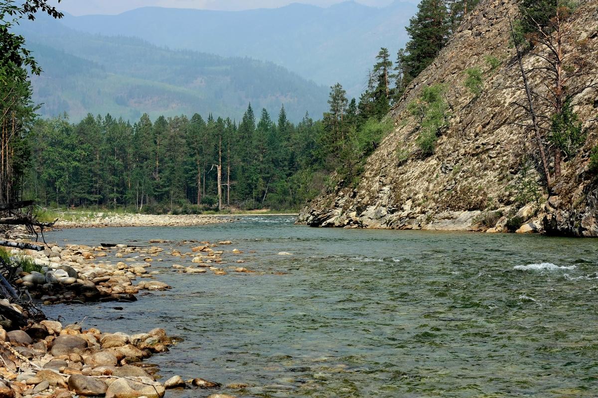 Фотографии реки баргузин