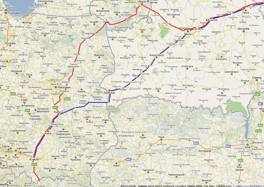 В Польшу через Литву. Словакия