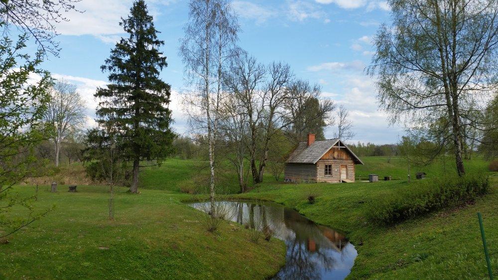 голосом можно старая прибалтийская деревня фото этом