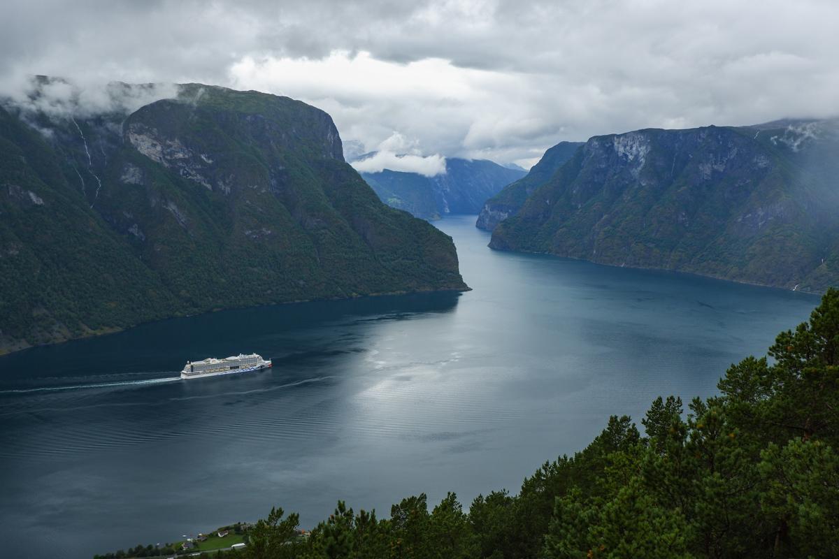 Несколько однодневных треков в Западной Норвегии