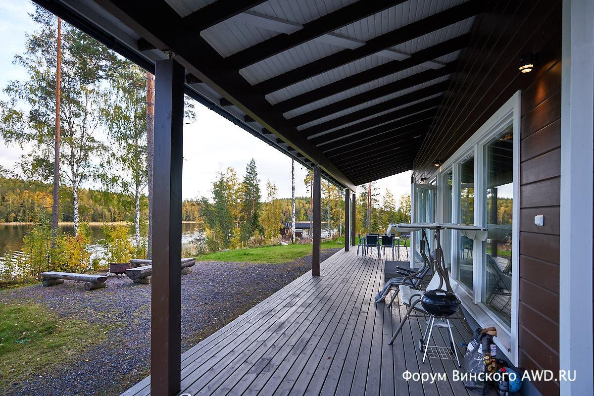 Коттедж на озере в Финляндии Villa Hoviranta Hartola
