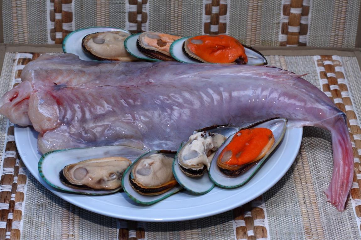 Блюда морской черт