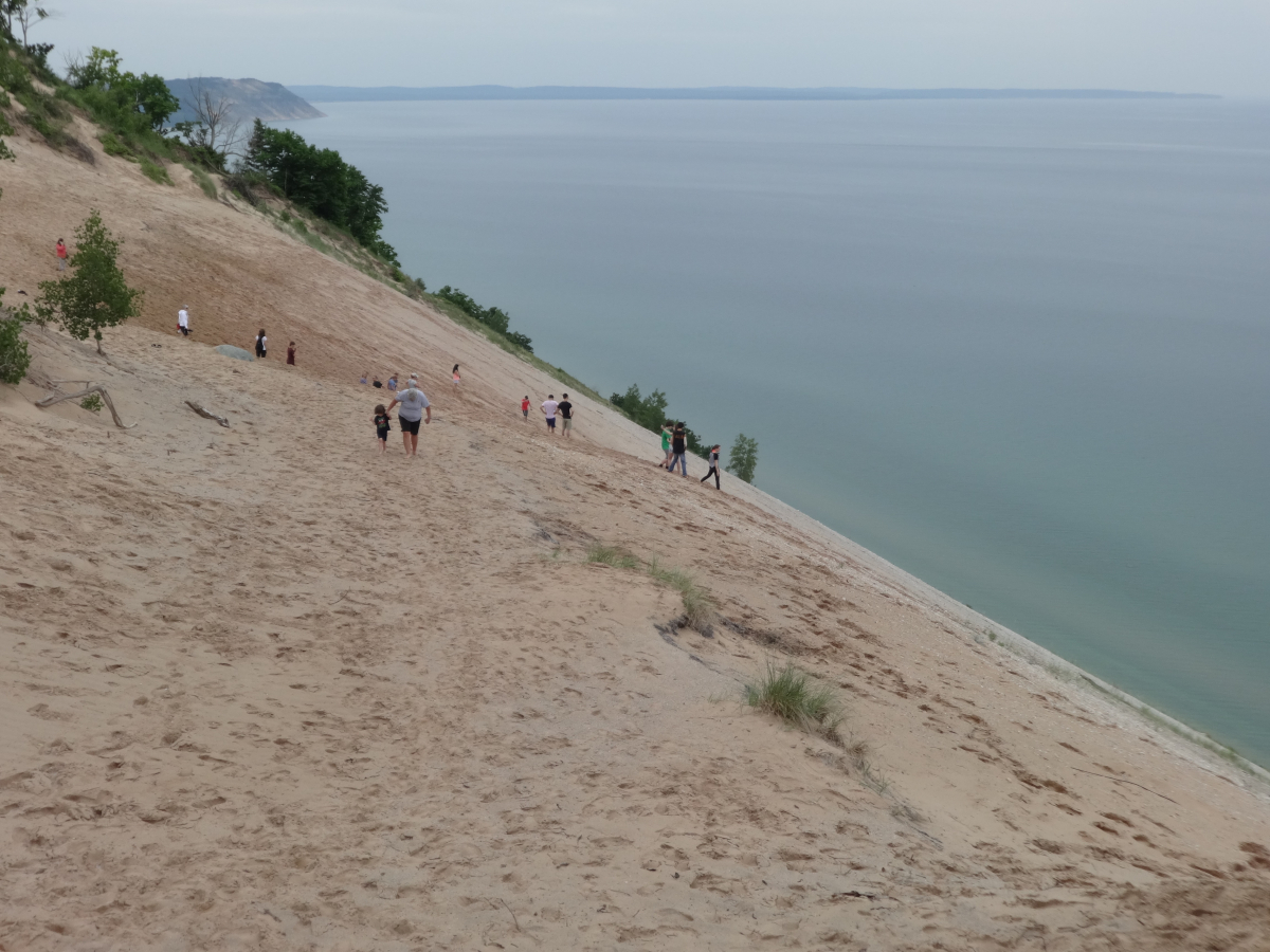 Там, на неведомых дорожках-Mackinac Island-Sleeping Bear Dunes-Grand Rapids-Chicago, Июнь 2018 год