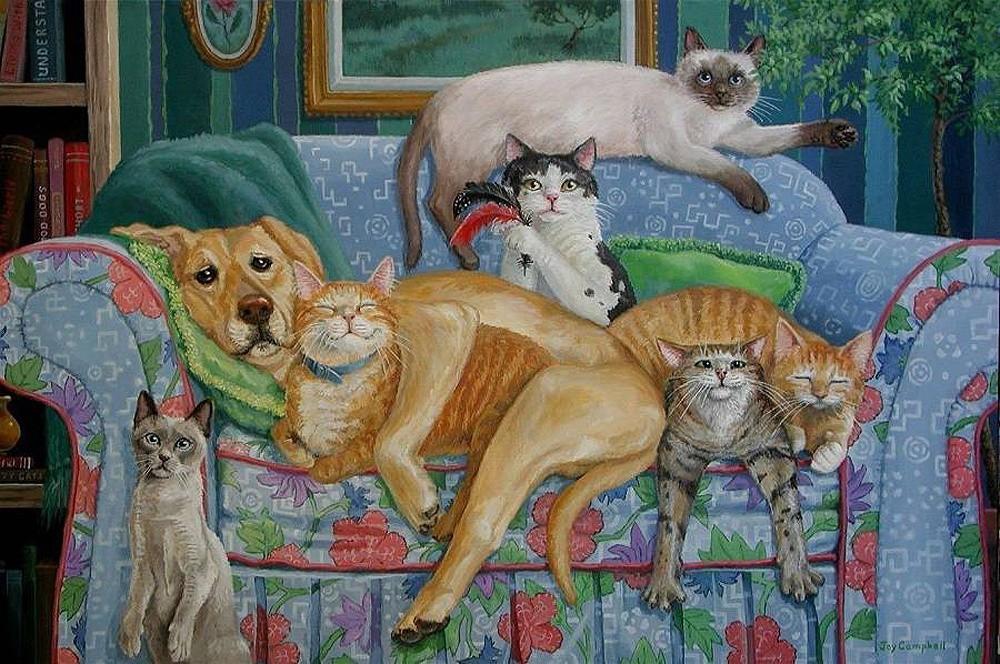 жизнь одной кошки в картинках людская молва упустит