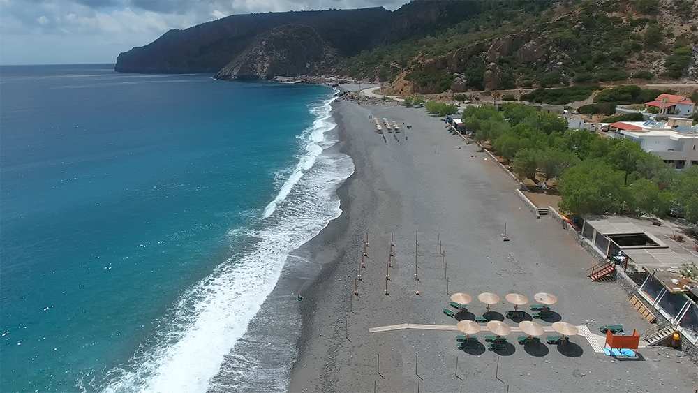 Пляж Суйя (Sougia) на юге Крита отзывы, как добраться