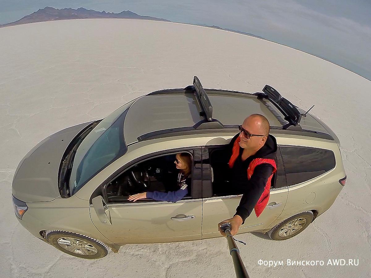 """Солёное озеро Bonneville Salt Flat штат Юта в США: где снимали фильм """"День Независимости"""""""