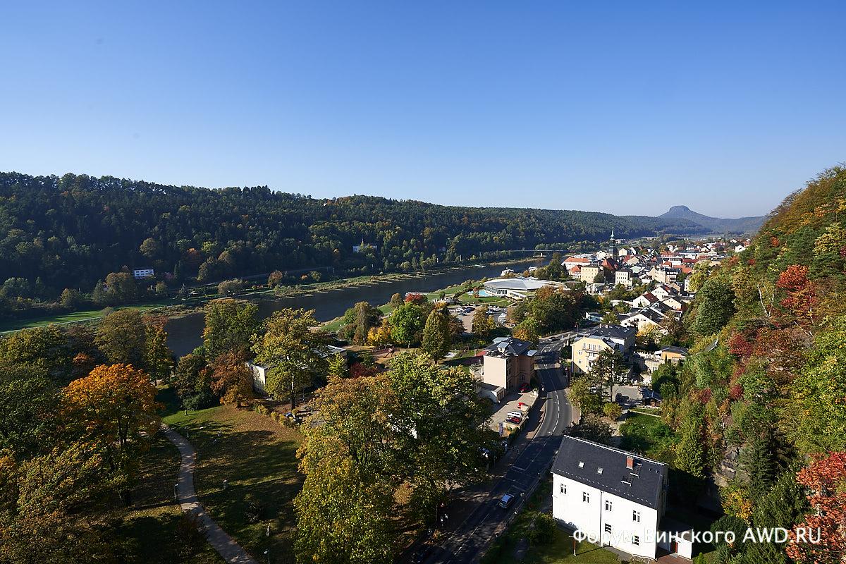 Парк Саксонская Швейцария: 2 дня в Бад-Шандау