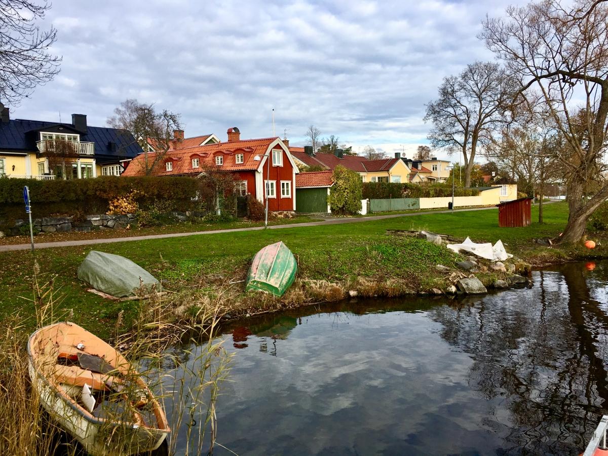 Швеция, Сигтуна - маленький великий город. 2018.