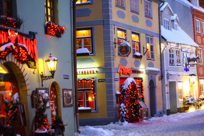 Рестораны вильнюса на новый год