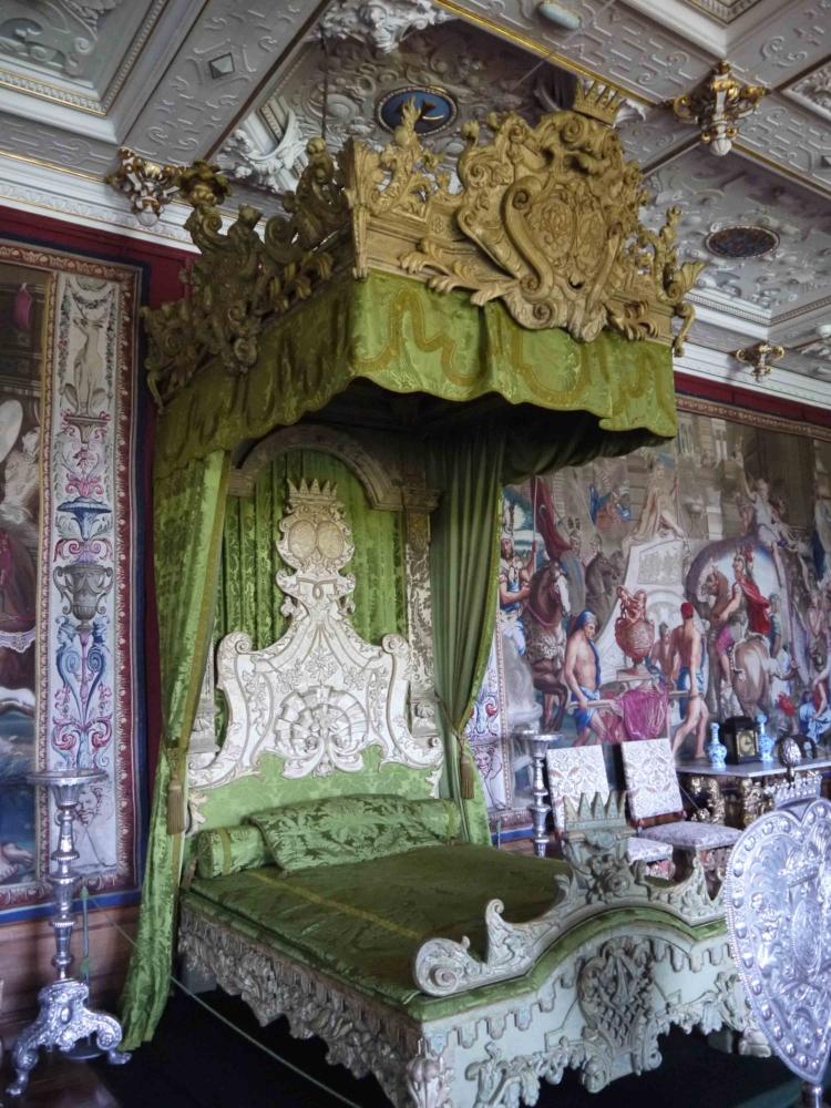 Замок Фредериксборг, кровать
