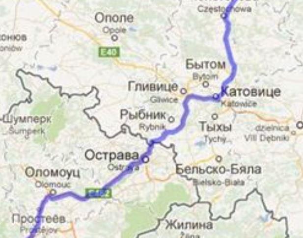 Европа 2014. Польша , Словакия ,  Австрия , Италия , Словения , Хорватия , Венгрия.