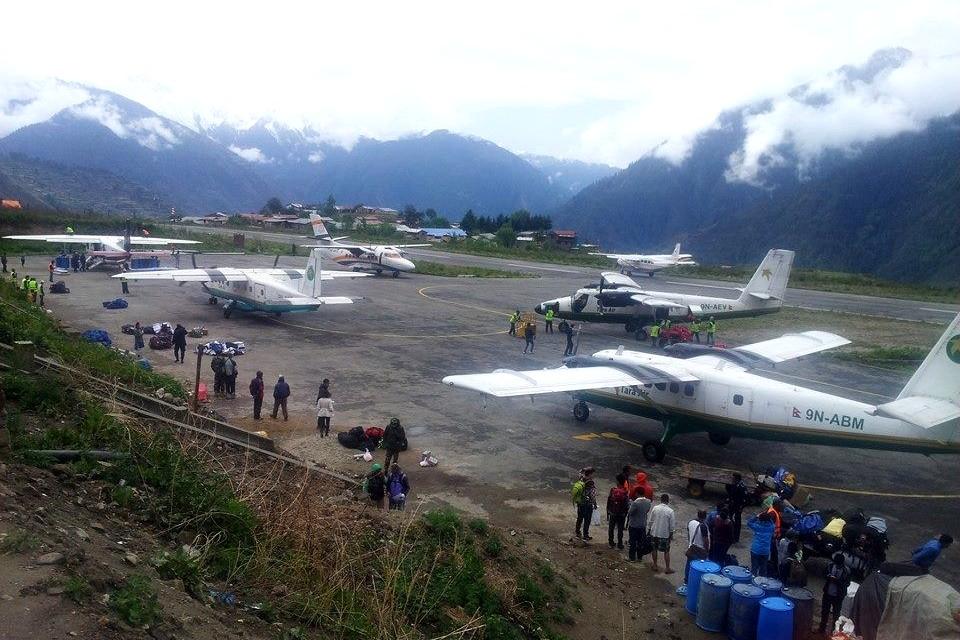 Непал. Внутренние перелеты, покупка билета он-лайн?