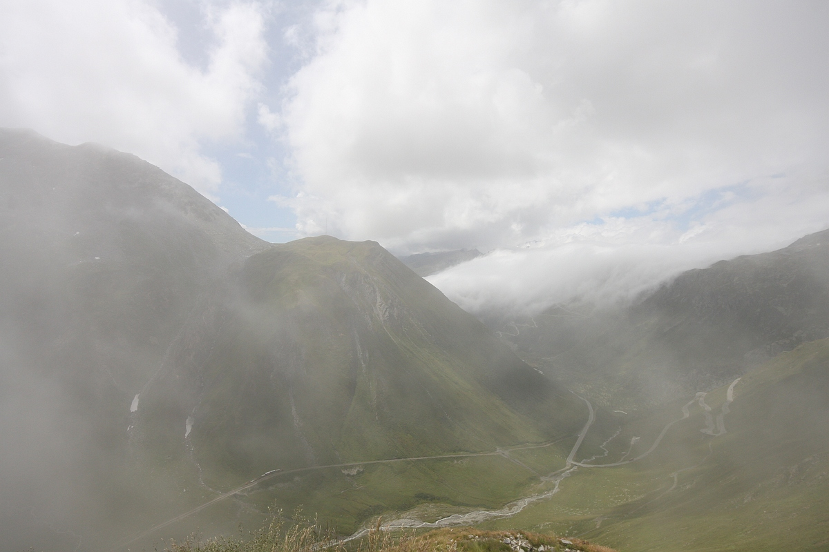 Grimselpass, Sustenpass и другие ...