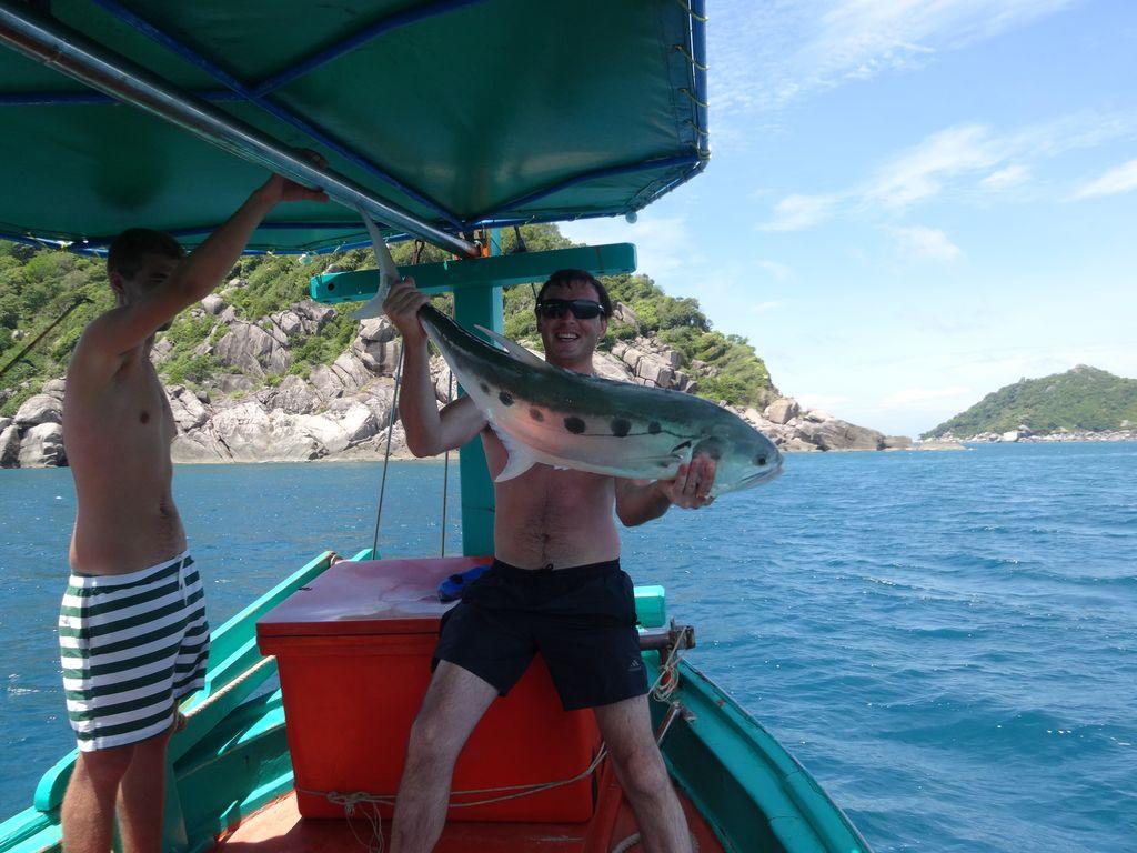 Рыбалка на ко тао с берега
