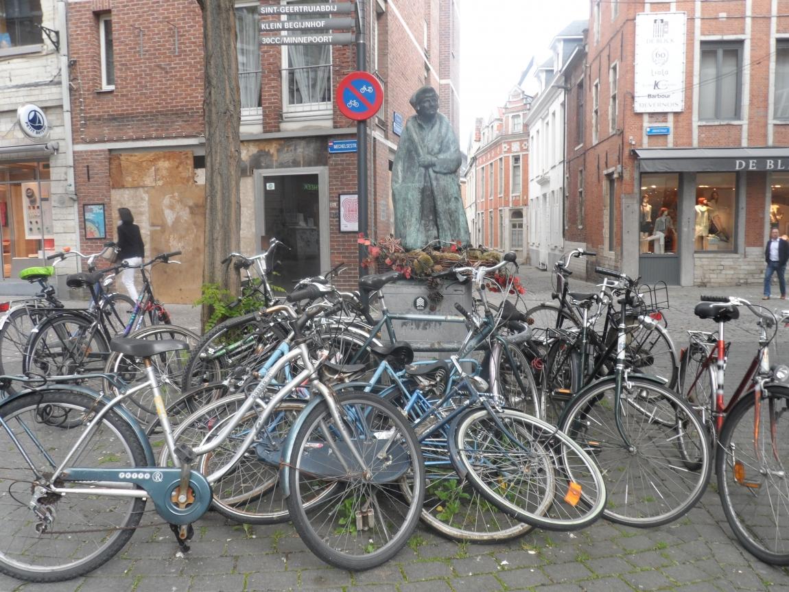 Правила передвижения на велосипеде в Бельгии.