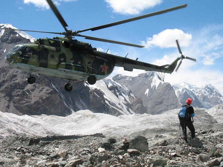 Картинки горы вертолет
