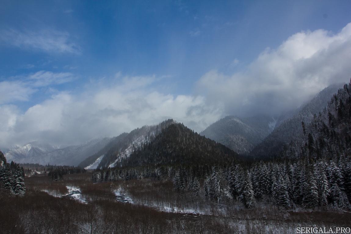 за 7 горами грузия находясь под