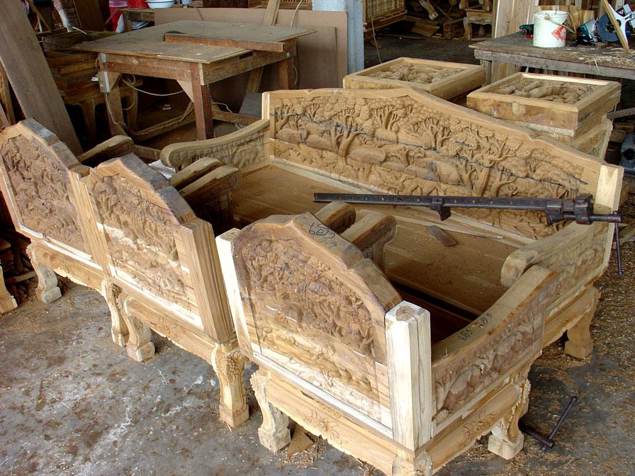 Резная мебель фото