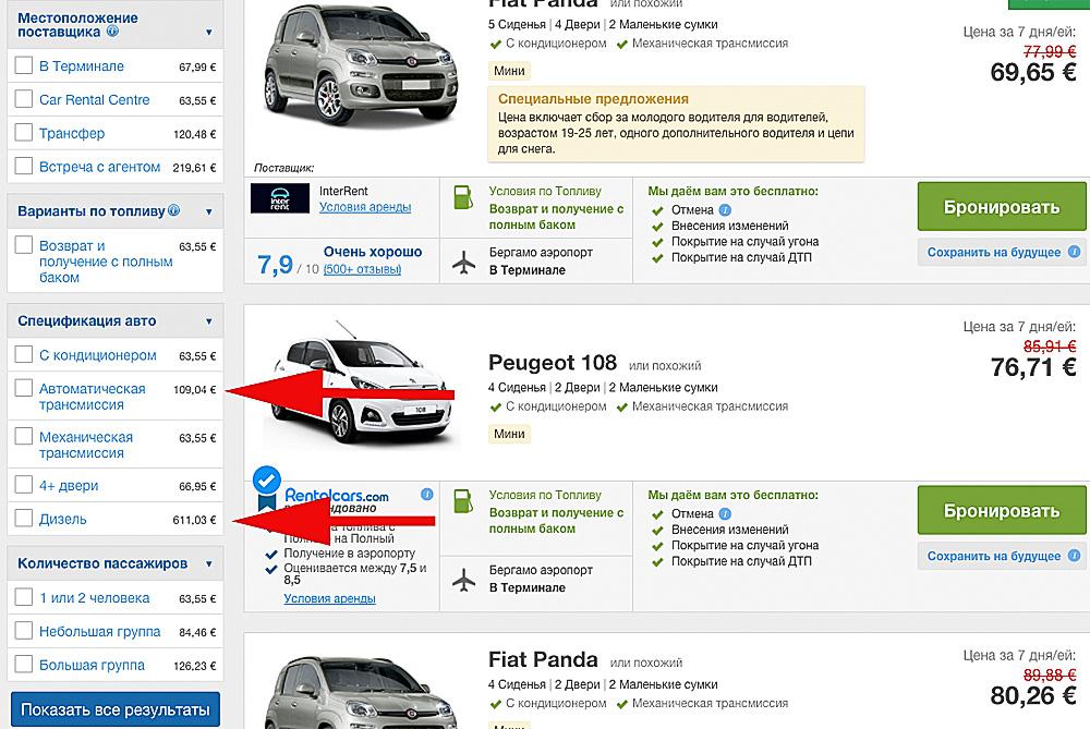 Что нужно для аренды автомобиля в испании купить билет на самолет москва гомель