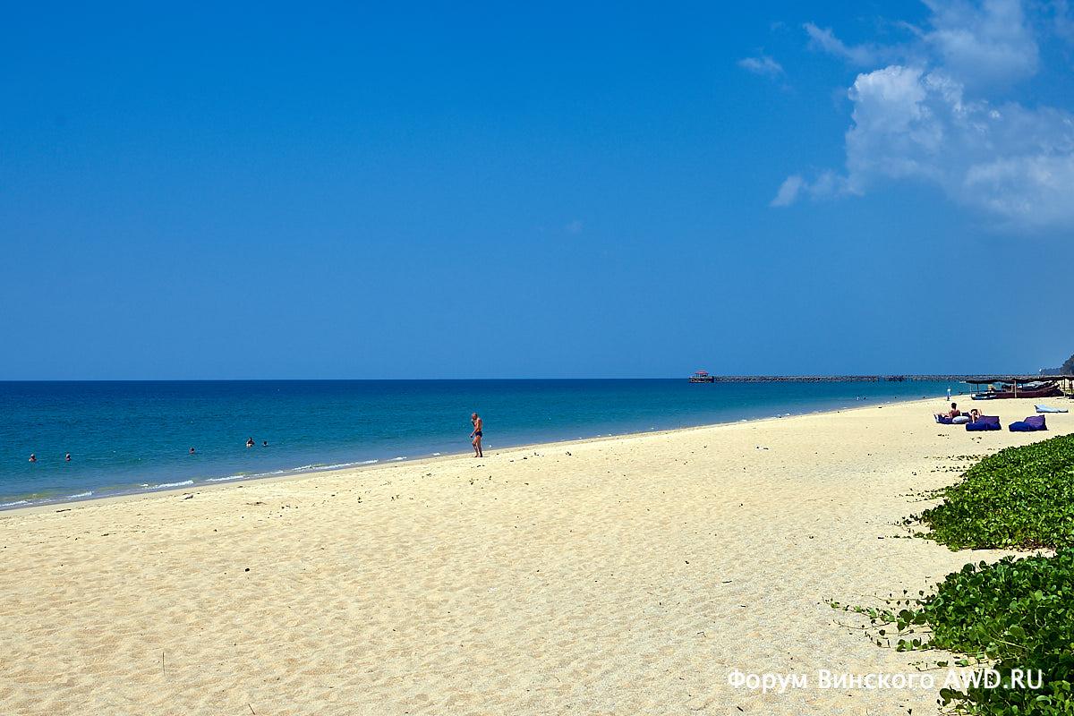 Пханг Нга пляжи: Пилай бич - Натай бич в 10 км севернее Пхукета
