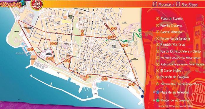карта туристик баса