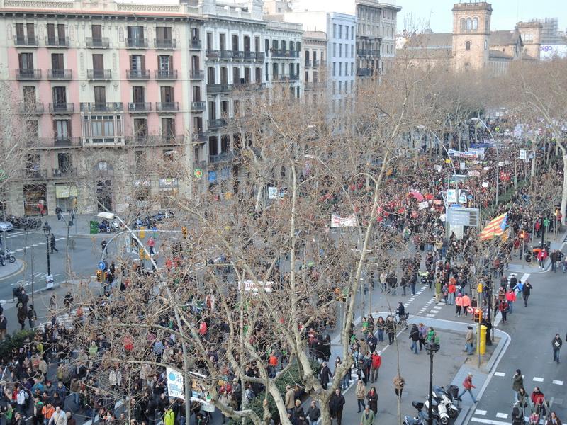 Отдых в Испании зимой, февраль 2013(Тенерифе и Барселона)много фото