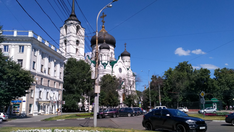 Воронеж, июль 2018 года