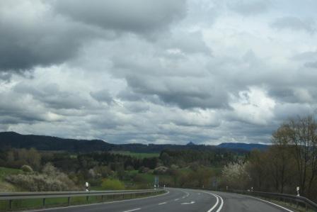 Германия на авто с севера на юг