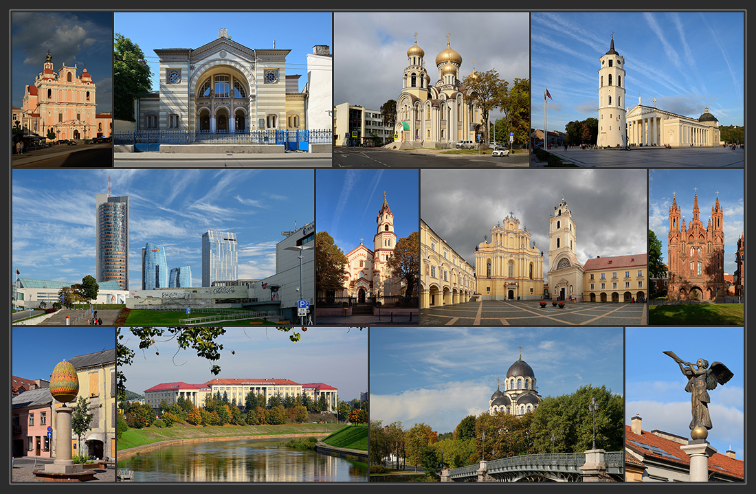Прогулки по Литве. Вильнюс: вдоль и поперёк