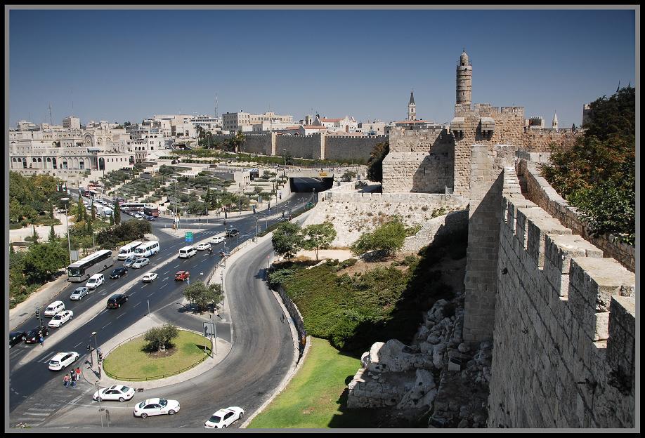 Стены и ворота Старого города с фото описанием картой и