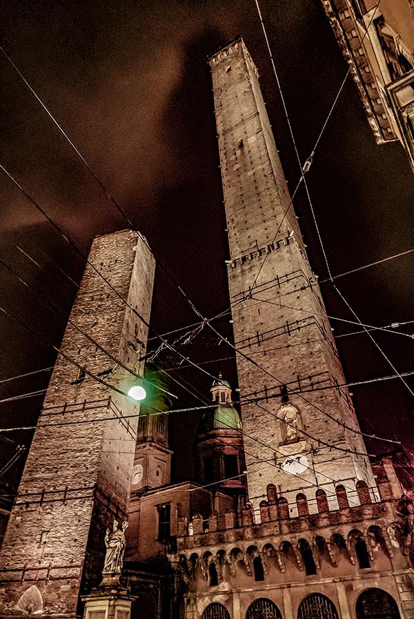 Январь 2016. Дождливый вечер в Болонье.