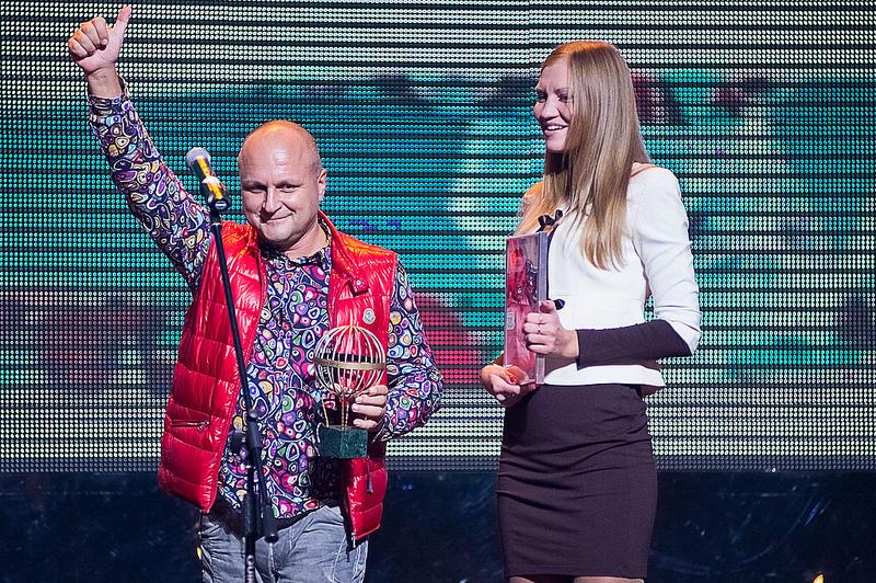 Винский получает премию Моя планета