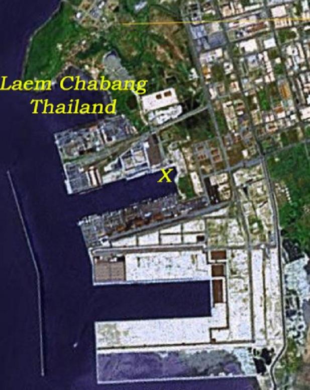 Круизный порт  Лаем Чабанг Laem Chabang, Таиланд. Дорога в Бангкок